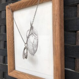 Small Sycamore pendant with framed drawing
